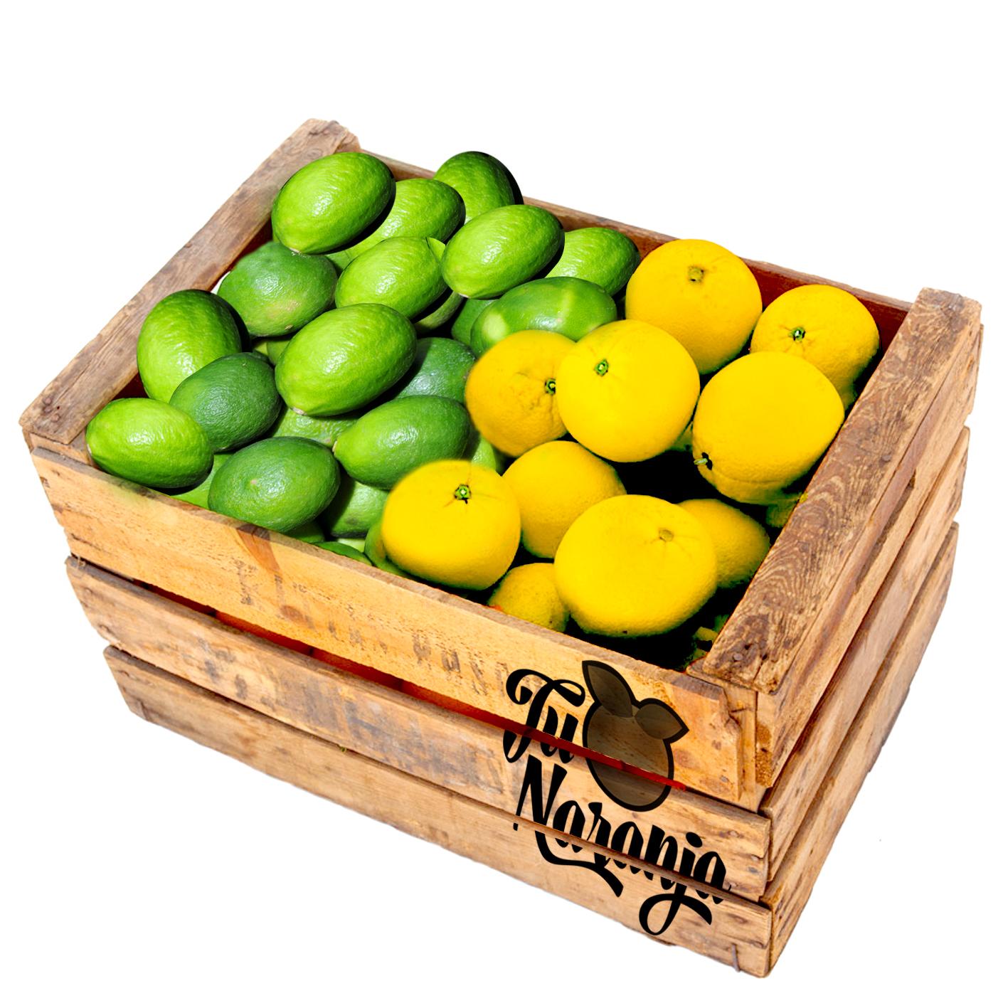 Naranja Sweety-Limón Tahiti (20kg Naranja / 3kg Limón)